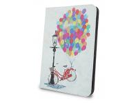 Husa Poliuretan GreenGo Baloons pentru Tableta 7 inci - 8 inci, Dimensiuni interioare 210 x 140 mm, Multicolor, Bulk