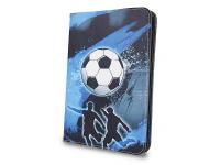Husa Poliuretan GreenGo Football pentru Tableta 10 inci, Dimensiuni interioare 265 x 195 mm, Multicolor, Bulk