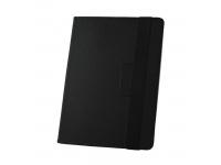 Husa Piele GreenGo Orbi pentru Tableta 10 inci, Dimensiuni interioare 265 x 195 mm, Neagra