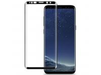 Folie Protectie Ecran Imak Pentru Samsung Galaxy S9 G960, Sticla securizata, Full Face, Edge Glue, 3D, Neagra, Blister