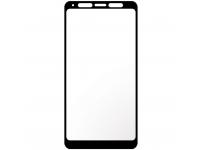 Folie Protectie Ecran Imak pentru Samsung Galaxy A9 (2018) A920, Sticla securizata, Full Face, Full Glue, 3D, Neagra, Blister