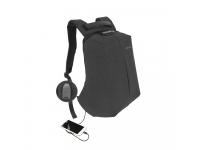 Rucsac textil Tellur Antifurt V2, cu port USB pentru Laptop,15.6 inci, Negru TLL611222