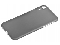 Husa Plastic OEM UltraSlim Frosted pentru Apple iPhone XR, Neagra, Bulk