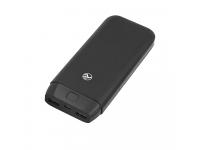 Baterie Externa Powerbank Tellur Compact PCB2 20000 mA, 2 x USB, Neagra, Blister TLL158211