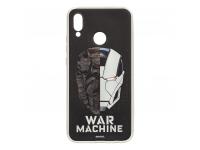 Husa TPU Marvel Iron Man War 001 pentru Huawei P20 Lite, Argintie, Blister