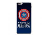 Husa TPU Marvel Captain America 001 pentru Huawei P20 Lite, Argintie, Blister