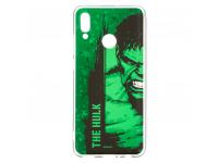 Husa TPU Marvel Hulk 001 pentru Huawei P Smart (2019), Verde, Blister