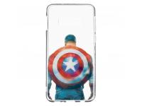 Husa TPU Marvel Captain America 002 pentru Samsung Galaxy S10e G970, Transparenta, Blister