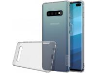 Husa TPU Nillkin Nature pentru Samsung Galaxy S10+ G975, Gri, Blister