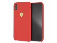 Husa TPU Ferrari pentru Apple iPhone XS Max, Rosie, Blister FESSIHCI65RE