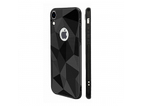 Husa TPU OEM Diamond Matt pentru Samsung Galaxy S9 G960, Neagra, Bulk