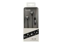 Handsfree Casti In-Ear CASNI Paw CS132, Cu microfon, 3.5 mm, Negru, Blister
