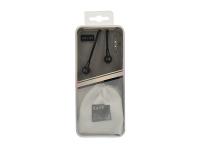 Handsfree Casti In-Ear CASNI CS137, Cu microfon, 3.5 mm, Negru, Bulk