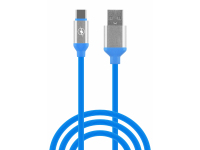 Cablu Date si Incarcare USB la USB Type-C OEM, 1 m, Albastru, Bulk