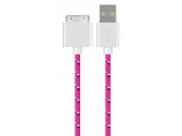 Cablu Date si Incarcare OEM Apple 30Pini, 1 m, Multicolor, Bulk