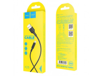 Cablu Date si Incarcare USB la Lightning HOCO Soarer X25, 1 m, Negru, Blister