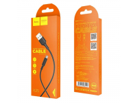 Cablu Date si Incarcare USB la MicroUSB HOCO Soarer X25, 1 m, Negru, Blister