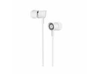 Handsfree Casti In-Ear HOCO Pleasant M37, Cu microfon, 3.5 mm, Alb, Blister