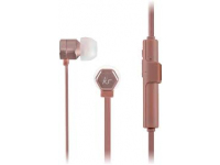 Handsfree Casti In-Ear KitSound Hive Buds, Bluetooth, Cu microfon, Roz - Auriu, Blister KSHIVBTRG