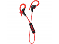 Handsfree Casti Bluetooth KitSound Race Sports, Negru - Rosu, Blister KSRACRD