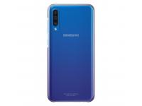 Husa Plastic Samsung Galaxy A50 A505 / Samsung Galaxy A50s A507 / Samsung Galaxy A30s A307, Gradation Cover, Violet Transparenta EF-AA505CVEGWW