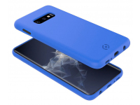 Husa TPU Celly Shock pentru Samsung Galaxy S10e G970, Albastra, Blister SHOCK892BL