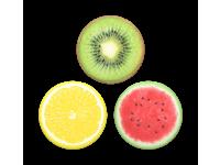 Suport Stand Adeziv 3 x Popsockets PopMinis pentru telefon Fruity Tutti Blister