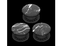Suport Stand Adeziv 3 x Popsockets PopMinis pentru telefon Black Marble Blister