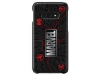Husa Plastic Samsung Galaxy S10e G970, Marvel Logo, Maro, Blister GP-G970HIFGHWF
