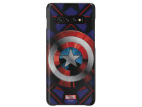 Husa Plastic Samsung Galaxy S10+ G975,  Marvel Captain America, Mov, Blister GP-G975HIFGHWC