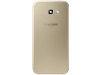 Capac Baterie Auriu cu geam camera, Swap Samsung Galaxy A5 (2017) A520