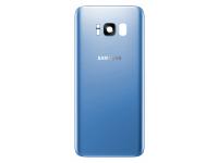 Capac Baterie Albastru cu geam camera, Swap Samsung Galaxy S8+ G955