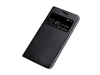 Husa Piele OEM Smart Look pentru Samsung Galaxy M10, Neagra, Bulk
