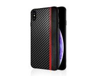 Husa Piele - TPU OEM Carbon Mulsae pentru Samsung Galaxy S8 G950, Neagra, Bulk