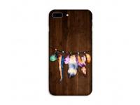 Husa TPU OEM Feathers pentru Huawei Y7 (2018), Multicolor, Bulk