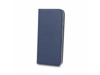 Husa Piele OEM Smart Magnetic pentru Telefon 6 inci, Dimensiuni interioare 165 x 85 mm, Bleumarin, Bulk