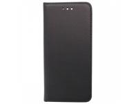 Husa Piele OEM Smart Magnet pentru Xiaomi Redmi Go, Neagra, Bulk