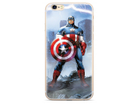 Husa TPU Marvel Captain America 003 pentru Huawei P20 Lite, Albastra, Blister
