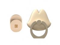 Suport inel universal telefon Remax Lips Auriu Blister Original