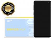 Display - Touchscreen, Cu Rama Argintie Samsung Galaxy S10 G973 GH82-18850B