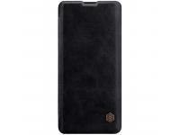 Husa Piele Nillkin Qin Book pentru Huawei P30 Pro, Neagra, Blister