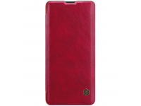 Husa Piele Nillkin Qin Book pentru Huawei P30 Pro, Rosie, Blister