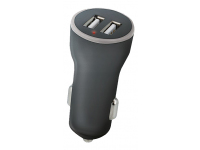 Incarcator Auto USB Setty, 2 X USB, 1.4A, Negru, Blister