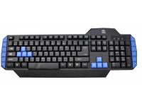 Tastatura  USB Gaming Warrior Rebeltec, Neagra  Blister Originala