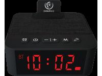 Difuzor Bluetooth Rebeltec cu Ceas si alarma SoundClock 120, Negru Blister