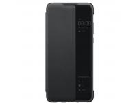 Husa Poliuretan Huawei P30 lite, View Cover, Neagra, Blister 51993076