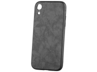 Husa Piele - Plastic OEM Business pentru Apple iPhone XR, Neagra, Blister