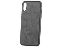 Husa Piele - Plastic OEM Business pentru Apple iPhone XS Max, Neagra, Blister