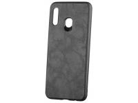 Husa Piele - Plastic OEM Business pentru Samsung Galaxy A30 A305 / Samsung Galaxy A20 A205, Neagra