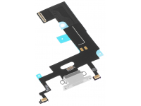 Banda Cu Conector Incarcare / Date - Microfon Alb Apple iPhone XR